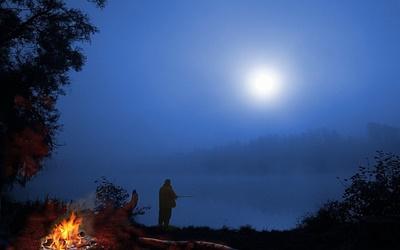 Ловля леща ночью