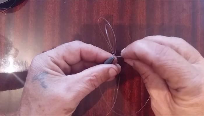 Как привязать грузило